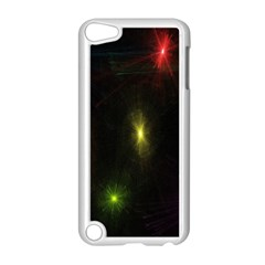 Star Lights Abstract Colourful Star Light Background Apple Ipod Touch 5 Case (white) by Simbadda