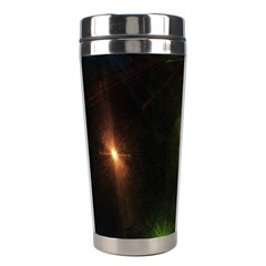 Star Lights Abstract Colourful Star Light Background Stainless Steel Travel Tumblers