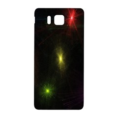 Star Lights Abstract Colourful Star Light Background Samsung Galaxy Alpha Hardshell Back Case by Simbadda