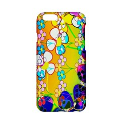 Abstract Flowers Design Apple Iphone 6/6s Hardshell Case by Simbadda
