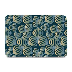 Gradient Flowers Abstract Background Plate Mats by Simbadda
