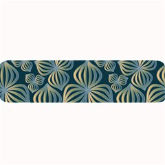 Gradient Flowers Abstract Background Large Bar Mats