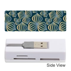 Gradient Flowers Abstract Background Memory Card Reader (stick)  by Simbadda