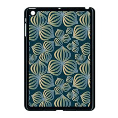 Gradient Flowers Abstract Background Apple Ipad Mini Case (black) by Simbadda