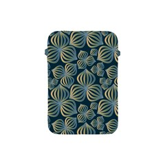 Gradient Flowers Abstract Background Apple Ipad Mini Protective Soft Cases by Simbadda