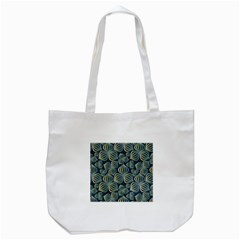 Gradient Flowers Abstract Background Tote Bag (white)