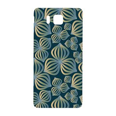 Gradient Flowers Abstract Background Samsung Galaxy Alpha Hardshell Back Case by Simbadda