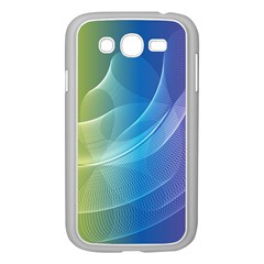 Colorful Guilloche Spiral Pattern Background Samsung Galaxy Grand Duos I9082 Case (white) by Simbadda