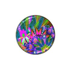 Wild Abstract Design Hat Clip Ball Marker (10 Pack) by Simbadda