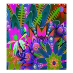 Wild Abstract Design Shower Curtain 66  x 72  (Large)  58.75 x64.8  Curtain