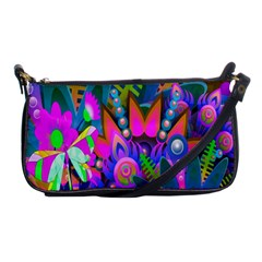 Wild Abstract Design Shoulder Clutch Bags by Simbadda