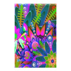 Wild Abstract Design Shower Curtain 48  X 72  (small)  by Simbadda