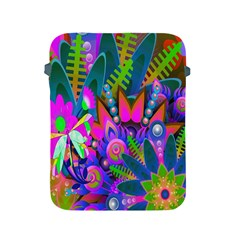 Wild Abstract Design Apple Ipad 2/3/4 Protective Soft Cases