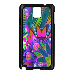 Wild Abstract Design Samsung Galaxy Note 3 N9005 Case (black) by Simbadda