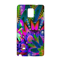 Wild Abstract Design Samsung Galaxy Note 4 Hardshell Case