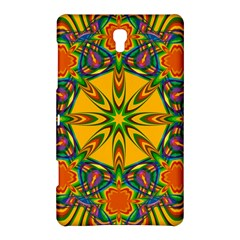 Seamless Orange Abstract Wallpaper Pattern Tile Background Samsung Galaxy Tab S (8 4 ) Hardshell Case