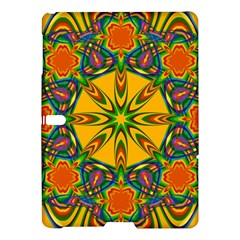 Seamless Orange Abstract Wallpaper Pattern Tile Background Samsung Galaxy Tab S (10 5 ) Hardshell Case  by Simbadda