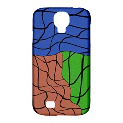 Abstract Art Mixed Colors Samsung Galaxy S4 Classic Hardshell Case (pc+silicone)