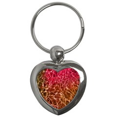 Background Water Abstract Red Wallpaper Key Chains (heart)  by Simbadda