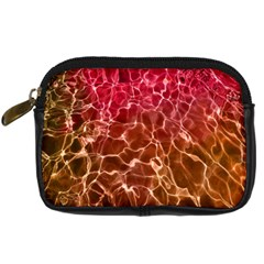 Background Water Abstract Red Wallpaper Digital Camera Cases by Simbadda