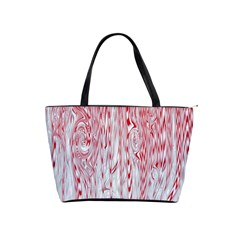 Abstract Swirling Pattern Background Wallpaper Pattern Shoulder Handbags