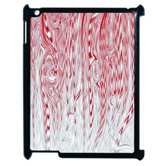 Abstract Swirling Pattern Background Wallpaper Pattern Apple Ipad 2 Case (black) by Simbadda