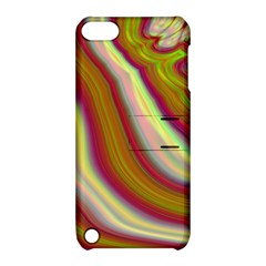 Artificial Colorful Lava Background Apple Ipod Touch 5 Hardshell Case With Stand