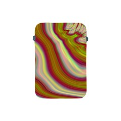 Artificial Colorful Lava Background Apple Ipad Mini Protective Soft Cases by Simbadda
