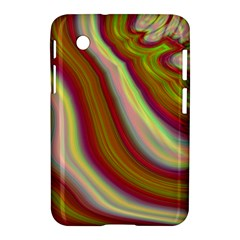 Artificial Colorful Lava Background Samsung Galaxy Tab 2 (7 ) P3100 Hardshell Case  by Simbadda