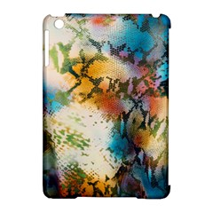 Abstract Color Splash Background Colorful Wallpaper Apple Ipad Mini Hardshell Case (compatible With Smart Cover) by Simbadda