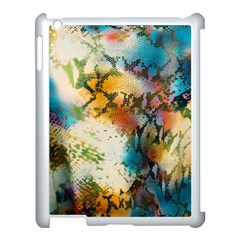 Abstract Color Splash Background Colorful Wallpaper Apple Ipad 3/4 Case (white) by Simbadda