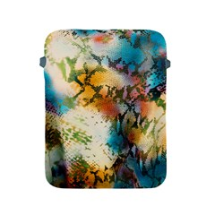 Abstract Color Splash Background Colorful Wallpaper Apple Ipad 2/3/4 Protective Soft Cases by Simbadda