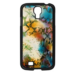 Abstract Color Splash Background Colorful Wallpaper Samsung Galaxy S4 I9500/ I9505 Case (black) by Simbadda