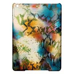 Abstract Color Splash Background Colorful Wallpaper Ipad Air Hardshell Cases by Simbadda