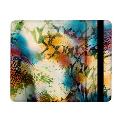 Abstract Color Splash Background Colorful Wallpaper Samsung Galaxy Tab Pro 8 4  Flip Case