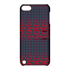Abstract Tiling Pattern Background Apple Ipod Touch 5 Hardshell Case With Stand