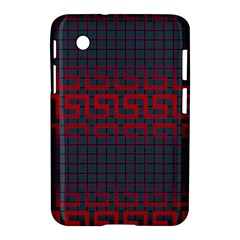 Abstract Tiling Pattern Background Samsung Galaxy Tab 2 (7 ) P3100 Hardshell Case