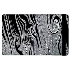 Abstract Swirling Pattern Background Wallpaper Apple Ipad 3/4 Flip Case by Simbadda