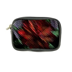 Abstract Green And Red Background Coin Purse by Simbadda