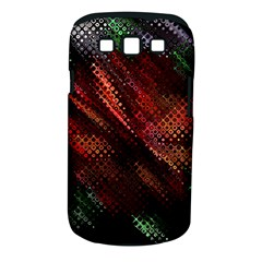 Abstract Green And Red Background Samsung Galaxy S Iii Classic Hardshell Case (pc+silicone)