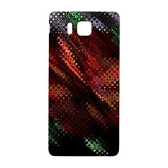Abstract Green And Red Background Samsung Galaxy Alpha Hardshell Back Case by Simbadda