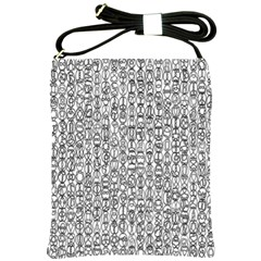Abstract Knots Background Design Pattern Shoulder Sling Bags