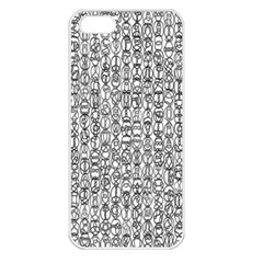 Abstract Knots Background Design Pattern Apple Iphone 5 Seamless Case (white)