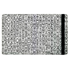 Abstract Knots Background Design Pattern Apple Ipad 2 Flip Case