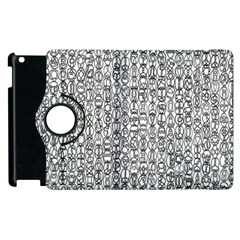 Abstract Knots Background Design Pattern Apple Ipad 3/4 Flip 360 Case