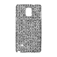 Abstract Knots Background Design Pattern Samsung Galaxy Note 4 Hardshell Case by Simbadda