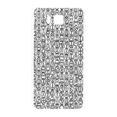 Abstract Knots Background Design Pattern Samsung Galaxy Alpha Hardshell Back Case by Simbadda