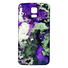 Background Abstract With Green And Purple Hues Samsung Galaxy S5 Back Case (white)