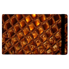 Caramel Honeycomb An Abstract Image Apple Ipad 3/4 Flip Case by Simbadda