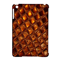 Caramel Honeycomb An Abstract Image Apple Ipad Mini Hardshell Case (compatible With Smart Cover) by Simbadda